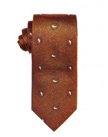 Yolk Small Paisley Tie