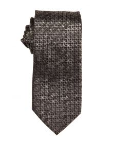 Copper & Cedar Textured Repp Stripe Tie
