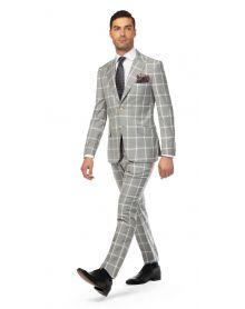 Milan Ash Grey Suit