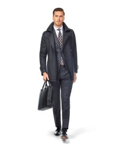 Hunter Charcoal Pea Coat