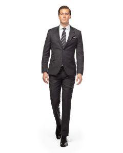 Morgan Grey Twill Weave Suit