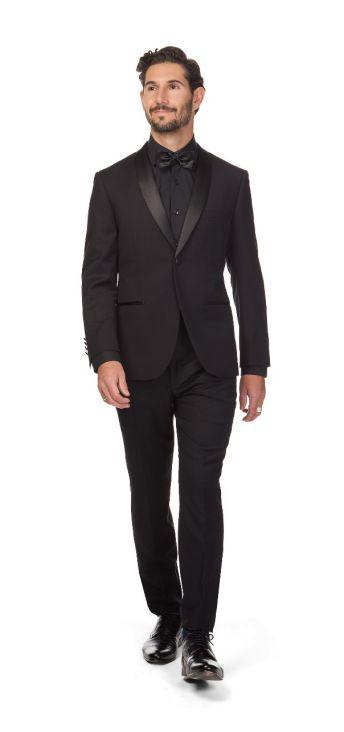 Clooney Shawl Textured Tuxedo