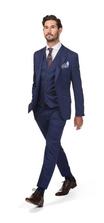 Madrid Navy Blue Suit