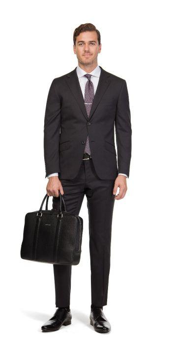 Deep Charcoal Dexter Suit