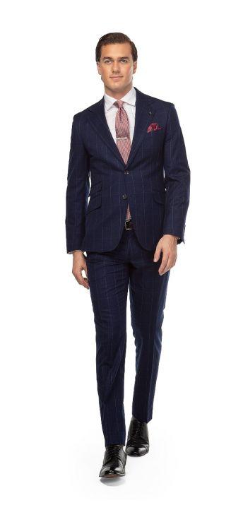 Blue Royal Overcheck Suit
