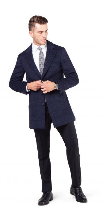 Bar III Mens Knit Sport Coat Black 44 Long