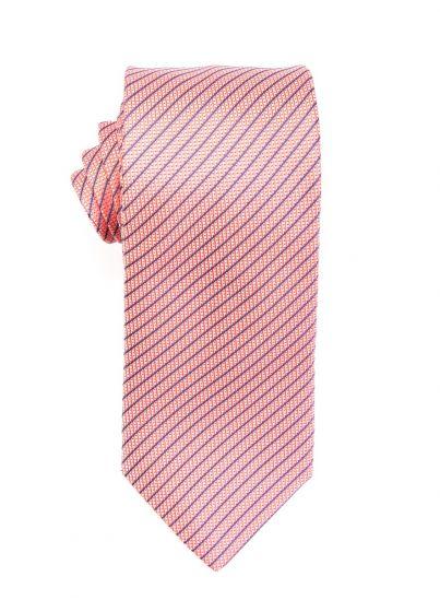 Tangerine Repp Tie