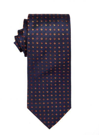 Tangerine Diamond Tie