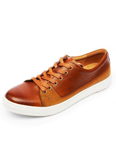Tan Tailored Sneaker