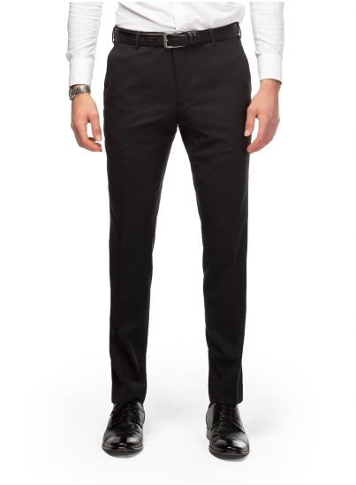 Dexter Charcoal Micro Trousers