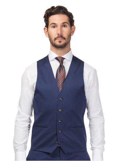 Madrid Navy Blue Vest