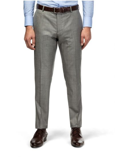 Grey Shark Skin Trousers
