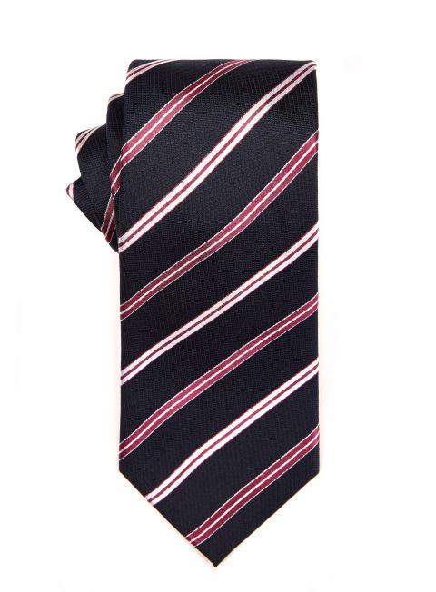 Magenta Repp Tie
