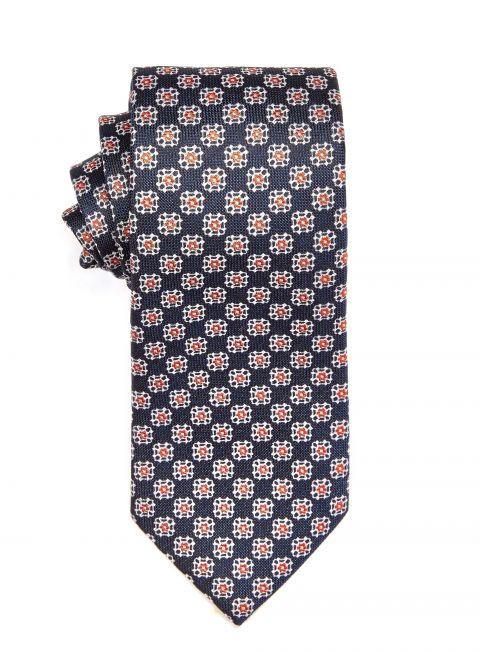 Denim Geometric Tie