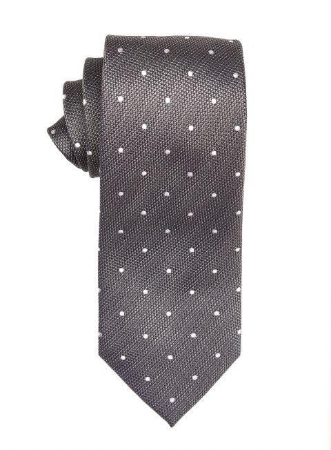 Steel Polka Dot Tie