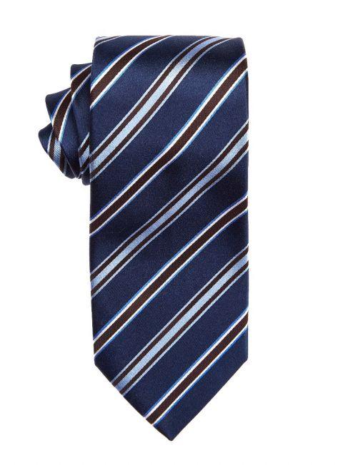 Cedar Repp Stripe Tie