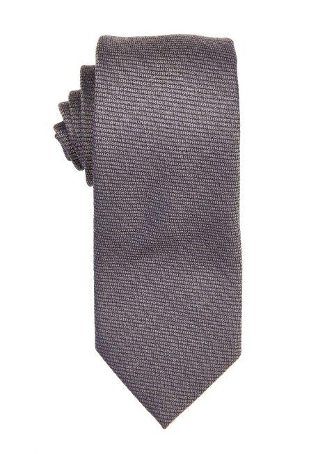 Chrome Textured Jacquard Tie