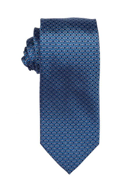 Marine Geometric Tie