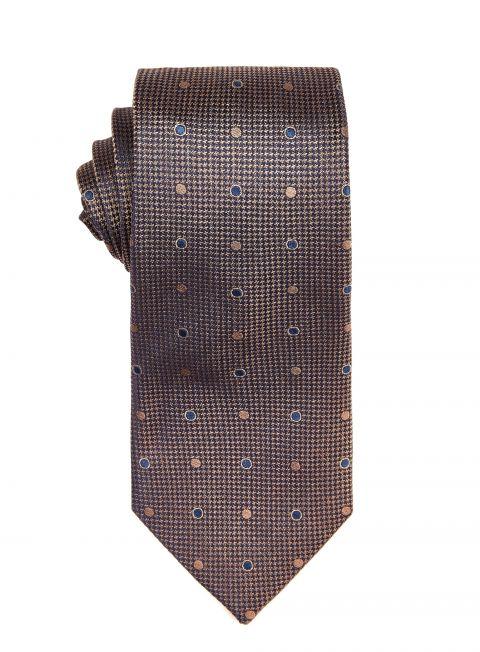 Copper Polka Dot Tie