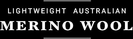 Lightweight Australian Merino Wool